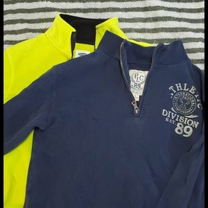 Boys size 10-12 pull overs (X2)